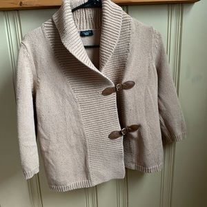 Talbots Buckle Front Sweater